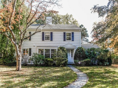Single Family Home for sales at Sun-filled Colonial 2 Bittersweet Ln Scarsdale, New York 10583 United States