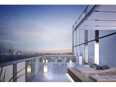 Apartamento for sales at Palm Penthouse Muraba Residence East Crescent Dubai, Dubai . Emirados Árabes Unidos