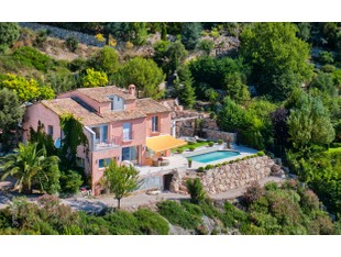 Casa para uma família for sales at Modern villa with panoramic sea view overlooking E  Eze, Provença-Alpes-Costa Azul 06360 França