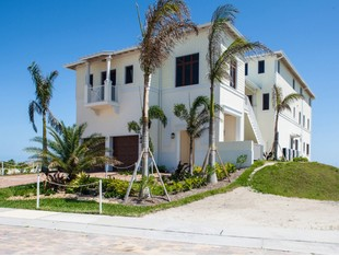 Single Family Home for sales at Extraordinary Avalon Beach Oceanfront Home with Elevator 6408 Ocean Estates Ct Fort Pierce, Florida 34949 United States