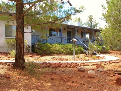 Single Family Home for sales at Quiet Cul-de-sac Home 45 Blue Jay Drive Sedona, Arizona 86336 United States