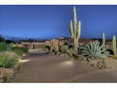 Single Family Home for sales at Beautiful Old World Elegance With Fabulous Views In Desert Mountain 41813 N 99th Way  Scottsdale, Arizona 85262 United States