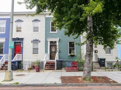 Nhà phố for sales at Shaw 1608 4th Street Nw Washington, District Of Columbia 20001 Hoa Kỳ
