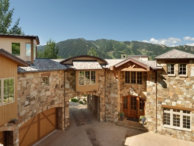 Single Family Home for sales at Tuscan Masterpiece on N. Spruce Street 737 N. Spruce Street Aspen, Colorado 81611 United States