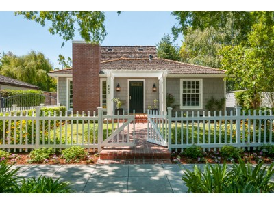 Single Family Home for sales at Turn-key Cape Cod style home in Old Palo 685 Oregon Ave Palo Alto, California 94301 United States