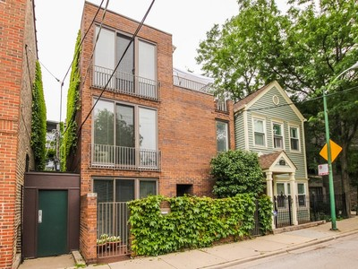 Casa Unifamiliar for sales at Contemporary Brick Home 1751 N Fern Court Chicago, Illinois 60614 Estados Unidos