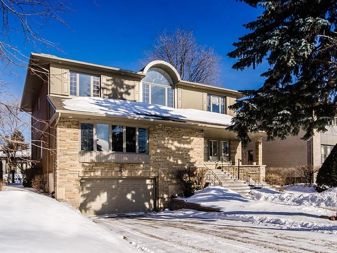 Частный односемейный дом for sales at Hampstead 185 Place Harland Hampstead, Квебек H3X3E7 Канада