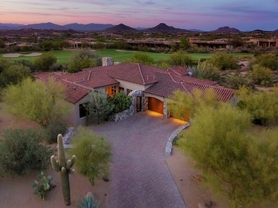 Single Family Home for sales at Fine Living in Estancia 10266 E Running Deer Trail Scottsdale, Arizona 85255 United States