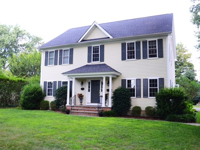 Single Family Home for sales at Well Maintained Colonial 144 Old Post Road Fairfield, Connecticut 06824 United States