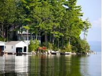 Частный односемейный дом for sales at Charming Lake Sunapee Cottage 17 Bay Point Landing   Newbury, Нью-Гэмпшир 03255 Соединенные Штаты