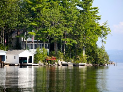 一戸建て for sales at Charming Lake Sunapee Cottage 17 Bay Point Landing  Newbury, ニューハンプシャー 03255 アメリカ合衆国