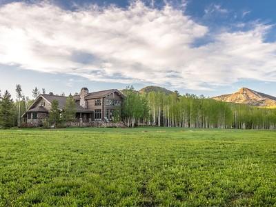Tek Ailelik Ev for sales at Snowy Mountain Ranch 61625 CR 62  Clark, Colorado 80428 Amerika Birleşik Devletleri