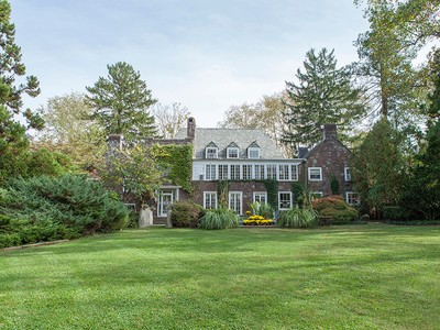 Maison unifamiliale for sales at An In-Town Estate Unlike Any Other 75 Cleveland Lane Princeton, New Jersey 08540 États-Unis