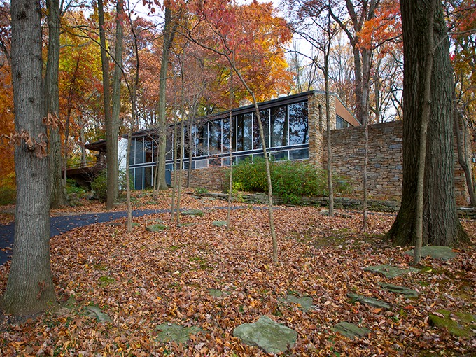 Single Family Home for sales at Richard Neutra's Pitcairn House 2860 Paper Mill Rd Bryn Athyn, Pennsylvania 19009 United States