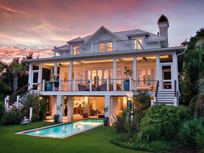 Single Family Home for sales at World Class Island Living   Sullivans Island, South Carolina 29482 United States