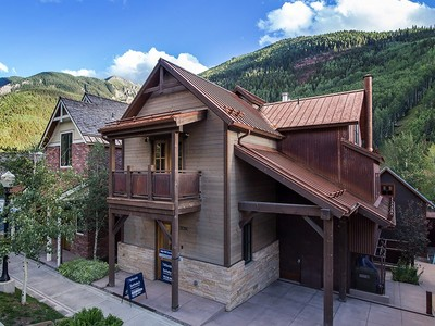 Кооперативная квартира for sales at 205 S Oak Street, Unit C 205 S Oak Street Unit C Telluride, Колорадо 81435 Соединенные Штаты