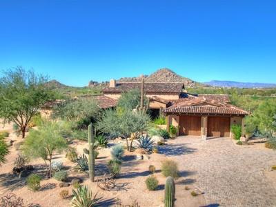 Villa for sales at The Ranch - Whisper Rock Estates 8104 E Tortuga View Lane Scottsdale, Arizona 85266 Stati Uniti