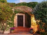 Property Of Spanish Colonial Hacienda with Understated Elegance & Old World Charm