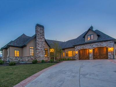 Maison unifamiliale for sales at Majestic Views 920 S Cascade Ct  Midway, Utah 84049 États-Unis