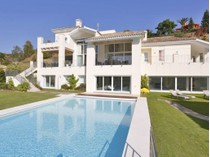 Single Family Home for sales at Stylish modern villa on an elevated plot with lovely golf views BENAHAVIS   Marbella, Costa Del Sol 29679 Spain