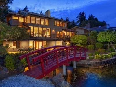 Single Family Home for sales at Northwest Contemporary Waterfront 6669  NE Windermere #C Seattle, Washington 98115 United States