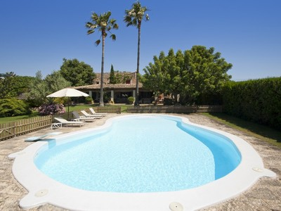 Multi-Family Home for sales at Charming Finca With a Mature Garden  Santa Maria, Mallorca 07003 Spain