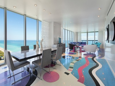 Condominium for sales at Canyon Ranch North: 27th Floor 6899 Collins Avenue 2704 Miami Beach, Florida 33141 United States