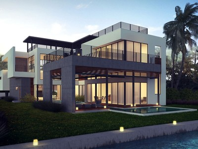 Single Family Home for sales at 5191 Pinetree Dr.   Miami Beach, Florida 33140 United States