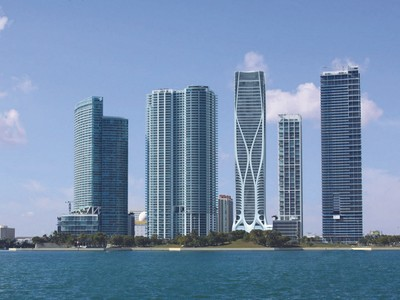 Appartement en copropriété for sales at 1000 MUSEUEM BY ZAHA HADID. 1000 Biscayne Blvd # 5001 Miami, Florida 33132 États-Unis