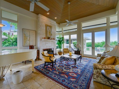 Single Family Home for sales at Stunning Waterfront Home at Ocean Reef 12 Osprey Lane Key Largo, Florida 33037 United States