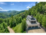 Single Family Home for sales at Mountain Views with the Contemporary Retreat! 127 Sunshine Way Townsend, Tennessee 37882 United States