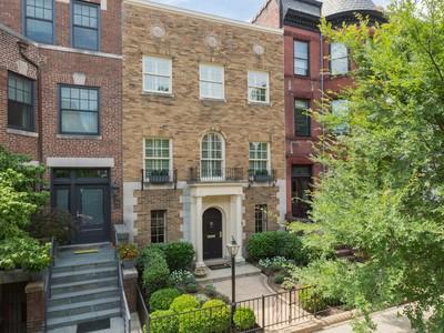 Maison de ville for sales at DuPont 1732 S Street Nw Washington, District De Columbia 20009 États-Unis