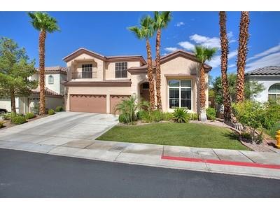 단독 가정 주택 for sales at 94 Tamarron Cliffs St  Las Vegas, 네바다 89148 미국