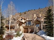 Частный односемейный дом for sales at West Aspen 1540 Silver King Drive   Aspen, Колорадо 81611 Соединенные Штаты