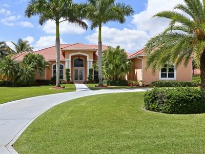 Nhà ở một gia đình for sales at 15575 Enstrom Rd  Wellington, Florida 33414 Hoa Kỳ