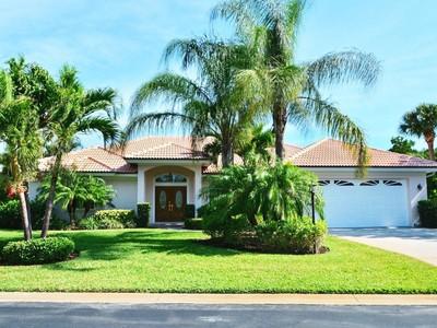 Nhà ở một gia đình for sales at Pride of Ownership, Barrier Island Pool Home, Cozy Community 2160 W Beachside Lane Vero Beach, Florida 32963 Hoa Kỳ