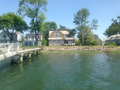 Single Family Home for sales at Direct Waterfront 9 Gregory Court Norwalk, Connecticut 06855 United States