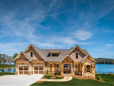 Maison unifamiliale for sales at Private Lake And Golf Living 5005 Peninsula Way Waleska, Georgia 30183 États-Unis