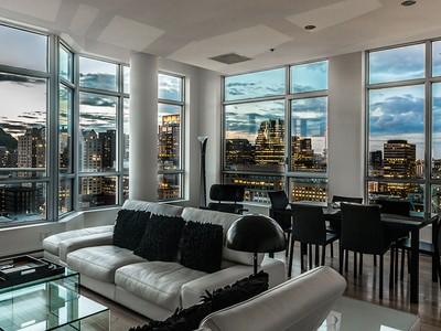 Condominium for sales at Montréal 1100 Rue de la Montagne, apt. 2201  Montreal, Quebec H3G0A2 Canada