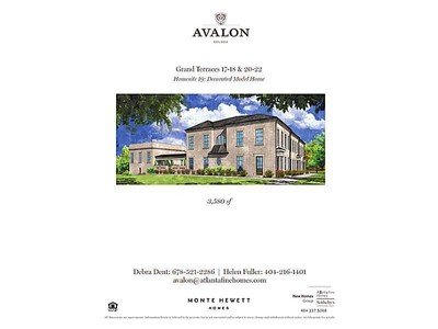 Single Family Home for sales at Live, Shop, Play in Luxury at Avalon 110 Grand Crescent Alpharetta, Georgia 30009 United States