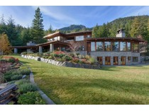 Single Family Home for sales at Secluded Mountian Retreat on Acreage 5476 Stonebridge Place   Whistler, British Columbia V0N1B5 Canada