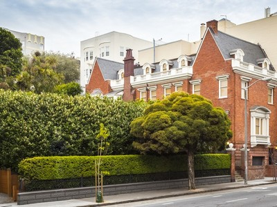 Single Family Home for  at Pacific Heights Landmark Mansion 1735 Franklin Street San Francisco, California 94109 United States