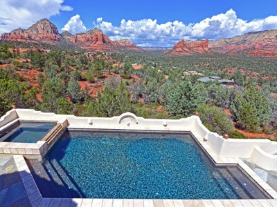 Vivienda unifamiliar for sales at Enchanting View Property in Sedona 216 Calle Francesca Sedona, Arizona 86336 Estados Unidos