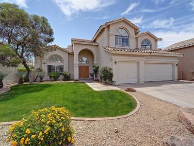 Casa Unifamiliar for sales at Spacious Family Home Located In The Highly Desirable Rio Montana Subdivision 12875 E Mercer Lane Scottsdale, Arizona 85259 Estados Unidos