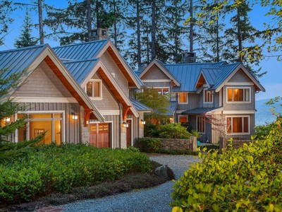 Nhà ở một gia đình for sales at West Coast Contemporary Home 2946 Fishboat Bay Road Victoria, British Columbia V9Z1G9 Canada
