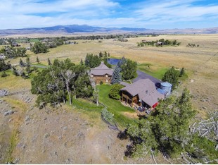 Single Family Home for sales at Amazing Outdoorsman's Estate 42 Cottonwood Lane Ennis, Montana 59729 United States