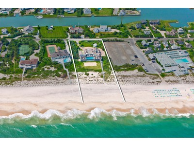 Nhà ở một gia đình for sales at Exceptional Oceanfront Residence 52 Dune Road Quogue, New York 11959 Hoa Kỳ