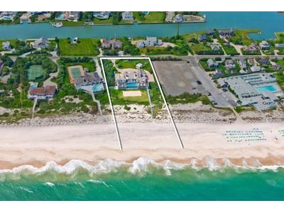 Частный односемейный дом for sales at Exceptional Oceanfront Residence 52 Dune Road Quogue, Нью-Мексико 11959 Соединенные Штаты