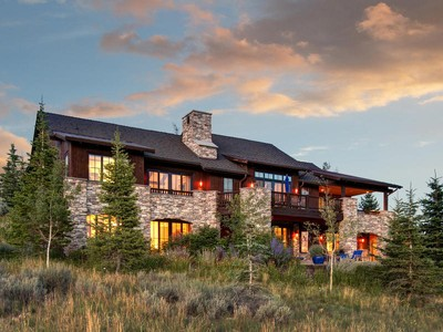 Einfamilienhaus for sales at Amazing Views from this Promontory Home 8609 N Marmot Cir Lot 92  Park City, Utah 84098 Vereinigte Staaten