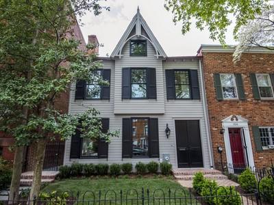 Maison unifamiliale for sales at Capitol Hill 541 7th Street Se Washington, District De Columbia 20003 États-Unis